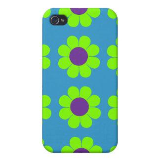 Flower power adaptable iPhone 4/4S carcasa