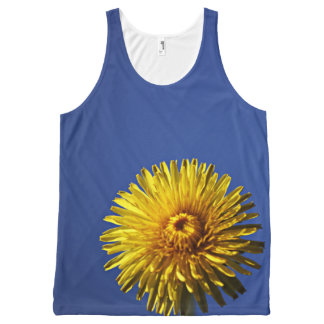 Flower power all-over print All-Over-Print tank top