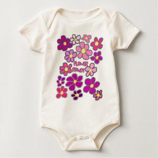 Flower power baby creeper