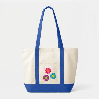 Flower Power Impulse Tote Bag