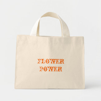Flower Power Canvas Bags