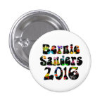 Flower Power Bernie Sanders 2016 Pinback Button