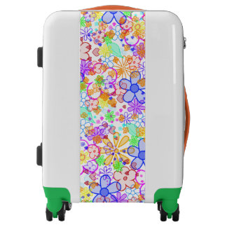Flower Power blooms pattern + your ideas Luggage