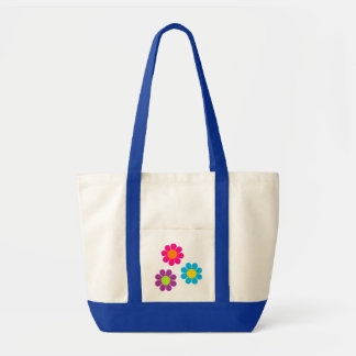 Flower power bolsa tela impulso