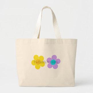 Flower power bolsa de mano