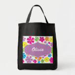 Flower Power Brights Collection Book Bag