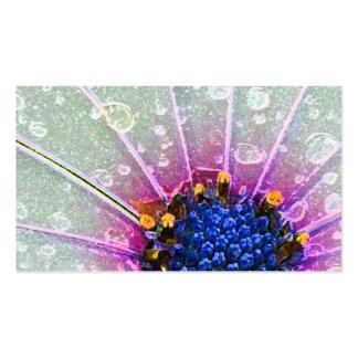Flower power business card templates