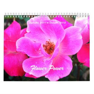 Flower power calendario