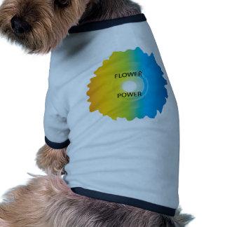 flower power camisetas mascota
