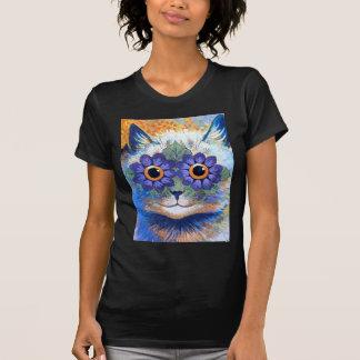Flower Power Cat T-Shirt