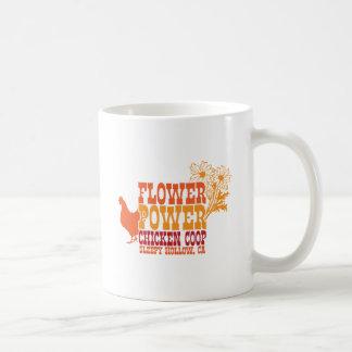 Flower Power Chicken Coop Mug