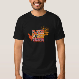 Flower Power Chicken Coop T-shirt