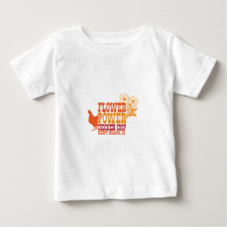 Flower Power Chicken Coop T Shirt