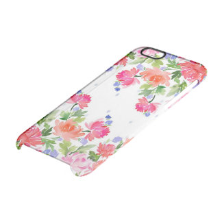 Flower Power Clear iPhone 6/6S Case