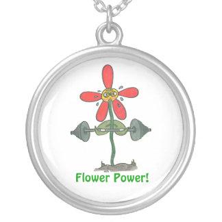 ¡Flower power! Colgante Redondo