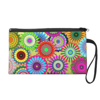 Flower Power Cosmetic Bag