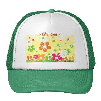 Flower Power customizable hat