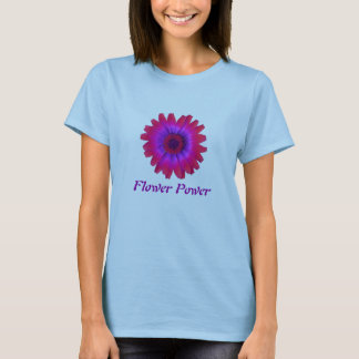 flower power daisy fuschia, Flower Power T-Shirt