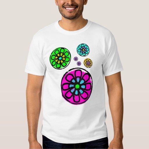 Flower power de Fibonacci Camisas