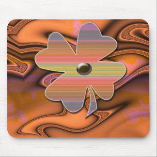 """""""Flower power de la Srta. 60s """" * Mouse Pads"""