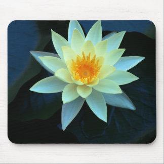 Flower power de Lotus Tapetes De Ratón