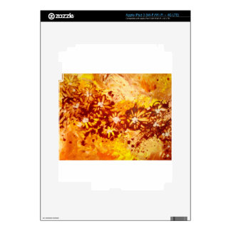 Flower Power Decals For iPad 3