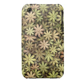 Flower power del metal Case-Mate iPhone 3 cobertura
