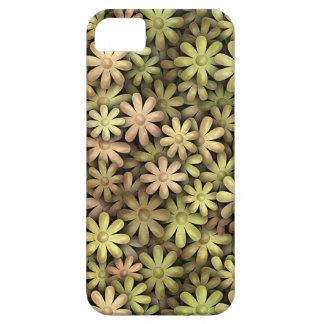 Flower power del metal funda para iPhone 5 barely there