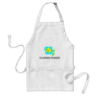 Flower power delantal