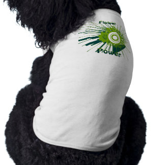 Flower Power Doggie Shirt