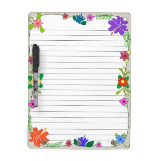 Flower Power Dry-Erase Board