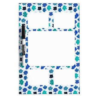 Flower Power Dry Erase Broad medium Dry-Erase Board