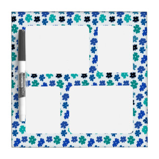 Flower Power Dry Erase Broad small Dry Erase Board