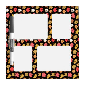 Flower Power Dry Erase Broad small Dry-Erase Board