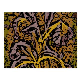 Flower power en lavanda postal