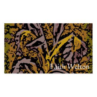 Flower power en lavanda tarjetas de negocios