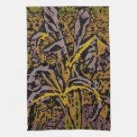 Flower power en lavanda toalla