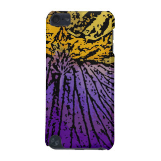 Flower power en púrpura y amarillo