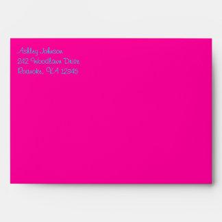 """Flower Power Envelope for 5""""x7"""" Sizes"""