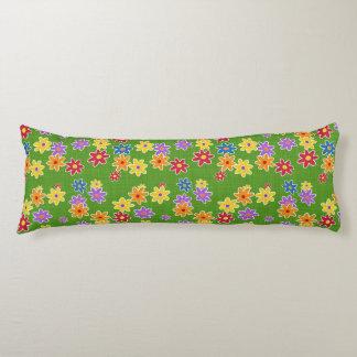 Flower Power Fabric Pattern + your ideas Body Pillow
