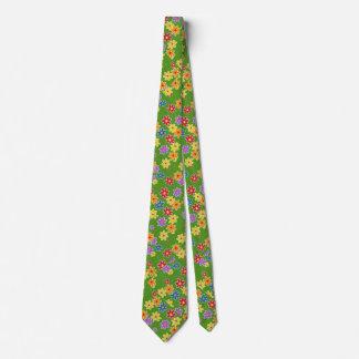 Flower Power Fabric Pattern + your ideas Neck Tie