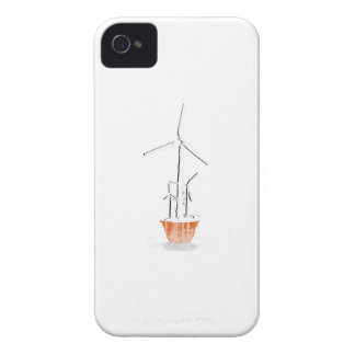 FLOWER POWER - Faded.png iPhone 4 Case-Mate Protectores