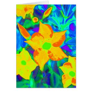 Flower power felicitación