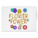 Flower power felicitaciones