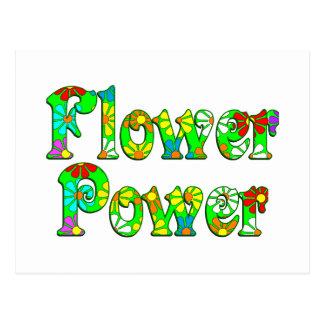 Flower Power Flowers Postcard