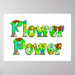 Flower Power Flowers Poster
