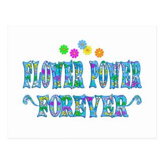 Flower Power Forever Postcard