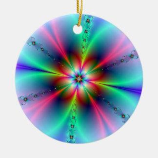 Flower Power Fractal Ornament