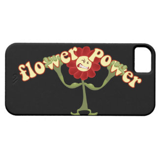 Flower power iPhone 5 carcasa