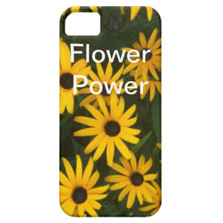 Flower power iPhone 5 protectores
